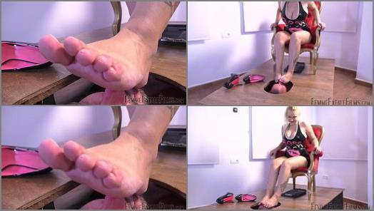 Foot Smelling –  Femme Fatale Films – Boxed In – Super HD – Part 2 –  Mistress Fox