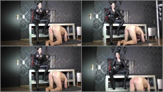 Femdom –  Femme Fatale Films – Leather Cropping – Super HD – Complete Film –  Lady Victoria Valente