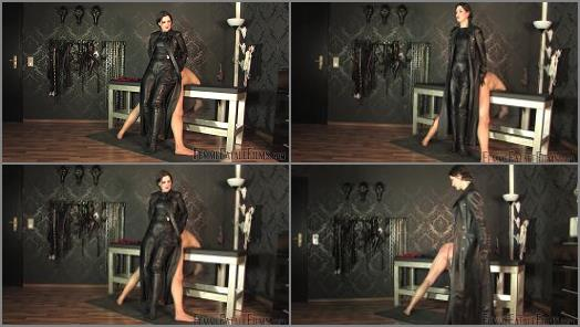 : Femme Fatale Films –  Femme Fatale Films – Trenchcoat Whipping & Extreme Caning – Super HD – Part 1 –  Lady Victoria Valente