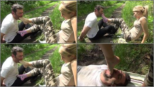 GABRIELLA  Saving Private Vigor  HARD Foot Gagging preview