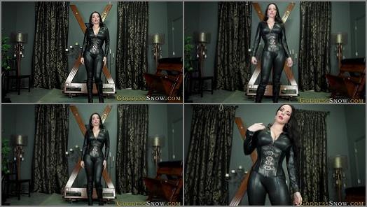 Submissive Slave Training –  Goddess Alexandra Snow – Genuflect Before Your Goddess
