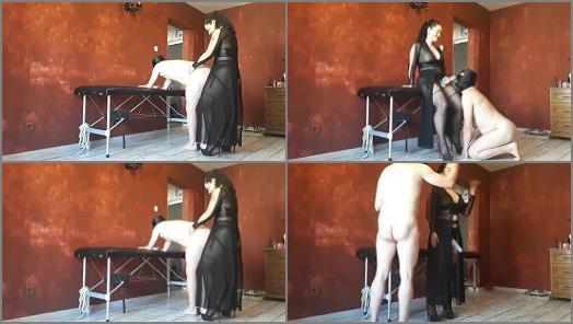 GoddessParvati  Erotic strapon fucking in black lingerie  preview