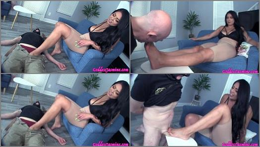 Foot Domination –  Jasmine Mendez LatinAss Locas – My Feet the cure for your erectile dysfunction