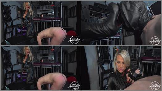 Leather Catsuit –  Kinky Mistresses – CBT And Leather Worship –  Calea Toxic