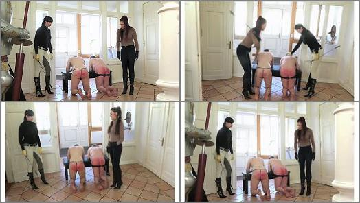Double Cropping – SADO LADIES Femdom Clips – Double Frustration Cropping (FULL HD) – Lady Sofia And Mistress Nemesis