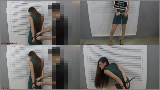 Metal –  Sasha Fae Arrested, Handcuffed and Ziptied