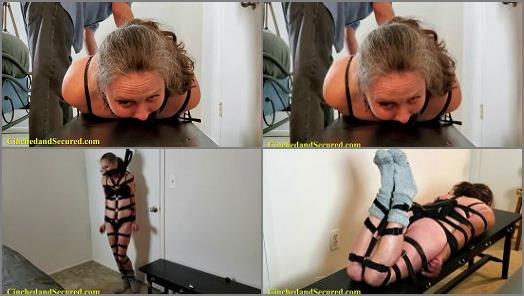 Panel Gag –  Cinched and Secured – Genevieve Harnessed and Helpless
