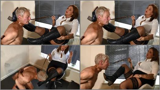 Cruel Goddess  Arm Strapped Bootlicker  preview
