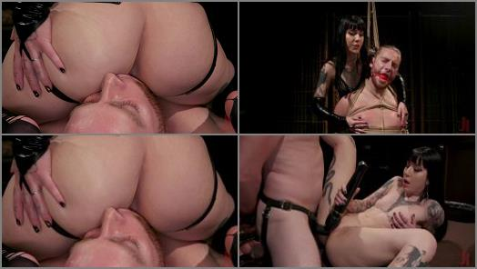 Bondage – Divine Bitches – Vicious Charlotte Sartre Destroys Pain Slut Sebastian Keys
