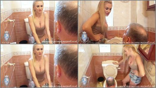 Miss Suzanna Maxwell  A toilet tonguing  preview