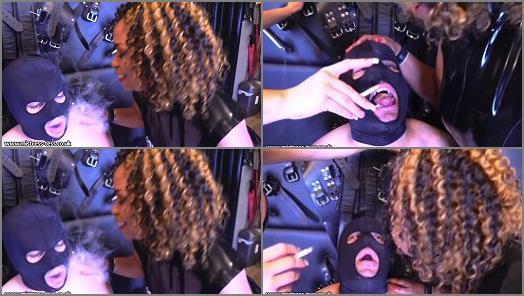 Online –  Mistress Tess UK Clip Store – Dual Ash & Spit slave Mistress Ariana –  Mistress Tess and Mistress Ariana