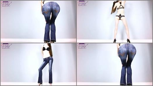 Goddess Worship –  Empress Mika for Mobile and Tablet – Mesmerized by My Jeans