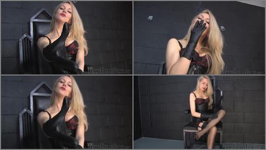 Leather Corset –  Femme Fatale Films – Dungeon Alone – Super HD – Complete Film –  Mistress Eleise de Lacy
