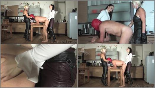Strap-on –  Femme Fatale Films – Roasted – Super HD – Complete Film –  Divine Mistress Heather and Lady Mephista