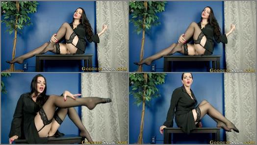 Older Woman / Younger Man –  Goddess Alexandra Snow – Dominating the Son