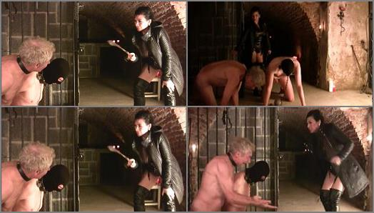 Female Domination – Mistress Saint Lawrence clipstore – SLAVES TORTURED IN OWK UNDERGROUND CELLAR