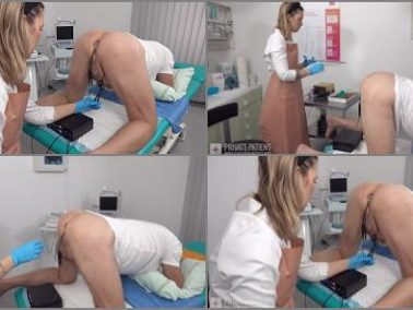 Anal Stimulation - Private Patient – Anal Exam – Part 2