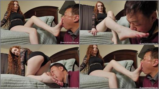 Brat Princess 2  Riley  Brat Uses Her Feet to get Her Way  preview