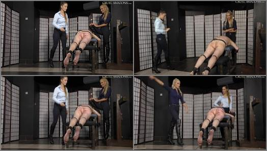 CRUEL MISTRESSES  Ass and thighs destroyed   Mistress Ariel and Mistress Amanda  preview