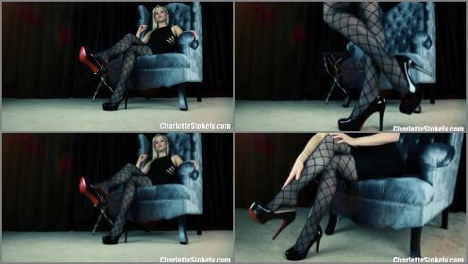 High heels – Charlotte Stokely – Classy Leg Denial