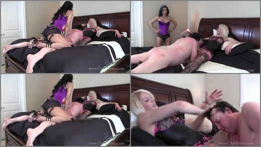 Club Stiletto FemDom  He Thought it was going to be a Casual Spit Roast   TS Staci  preview