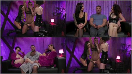 Fake Boobs –  Filthy Femdom – Man Training: Gia Dimarco and Mistress Blunt Dominate Clueless Man –  Gia DiMarco, Mistress Blunt and Draven Navarro
