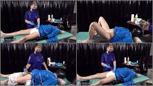Medical Femdom -  Private-Patient – Hand and Machine – Complete Film
