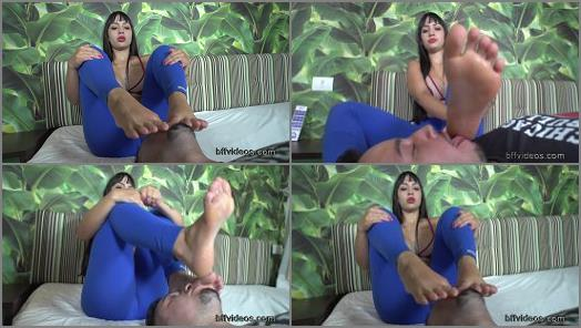 Bffvideos  Worship Safira Carter Sweaty Feet Pt3 preview