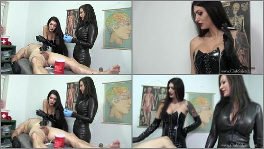 Clubstiletto –  Club Stiletto FemDom – The Experimental Treatments Are The Most Fun –  Mistress Jasmine and Mistress Damazonia