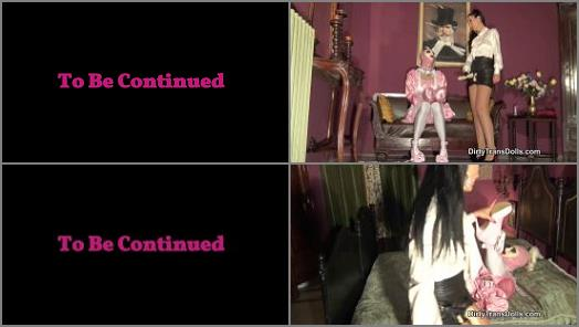 Dirty Trans Dolls 2020 –  Dirty Trans Dolls – FEMINISED SISSY WHORE PEGGED PART 2 –  Fetish Liza