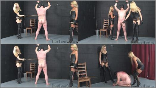 Femme Fatale Films  Athenas Whipping Boy  Complete Film   Mistress Athena and Mistress Eleise de Lacy  preview