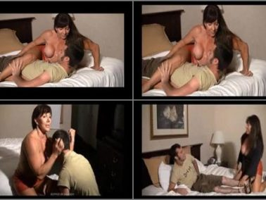 Gayle Moher - IRON BELLES MUSCLE ADDICTION STORE – Gayle's Domination of Her Intruder