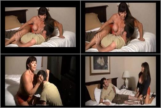 IRON BELLES MUSCLE ADDICTION STORE  Gayles Domination of Her Intruder  preview