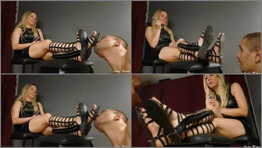 Lady Kara  Good Motivation To Clean Dirt From My Shoes Slave preview