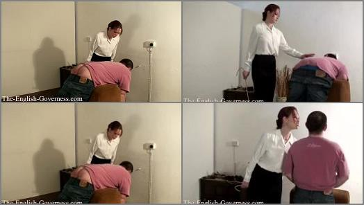 Adult School –  Lady Kenworthys CP Collection – The Governess Shows You NO MERCY with her Cane