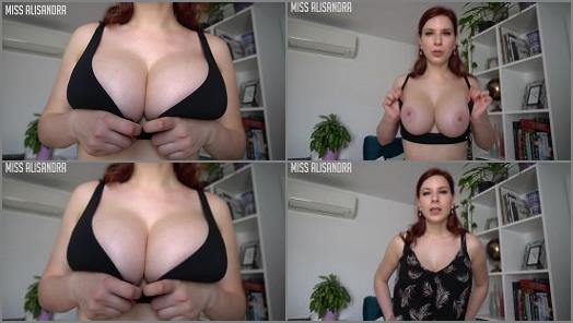 Joi Games –  Miss Alisandra – JOI For Dirty Old Tit Addicts