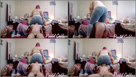 Pastel Goddess  Painful Face Smashing in Jeans  preview
