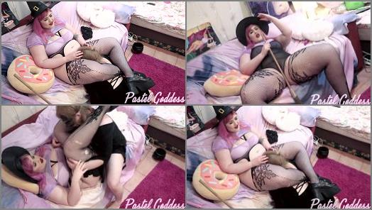 Pastel Goddess  Witch Transforms Her Cat Into a Sex Toy  preview