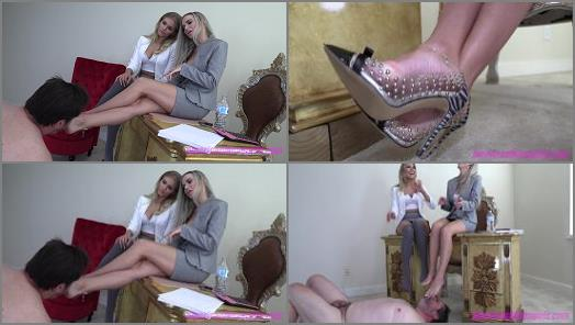 THE MEAN GIRLS CLUB  The Tax Loser   Princess Amber and Goddess Platinum  preview