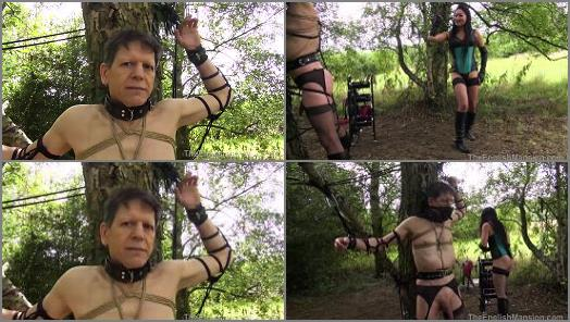 Electric –  The English Mansion – Tree Tied Torment – Part 3 –  Mistress Amrita