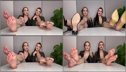 Foot JOI – The Queens – Foot Assassins MindFuck JOI