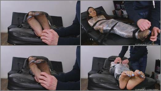 Ayla Sky  Mummified TickleTorture Ayla Goes First preview