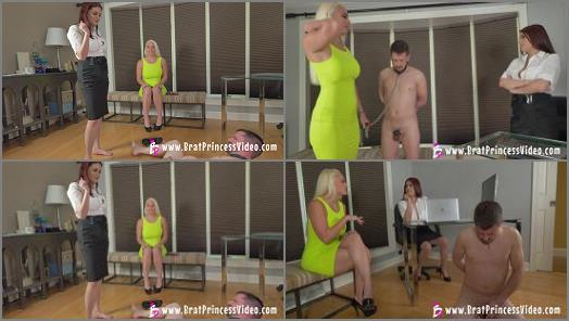 Female Domination –  Brat Princess 2 – Macy and Raquel – Macy Revisits the Beta Exploitation Specialist for Ballbusting