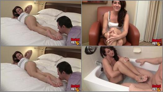 Fucked Feet  Footjob in the Tub  preview