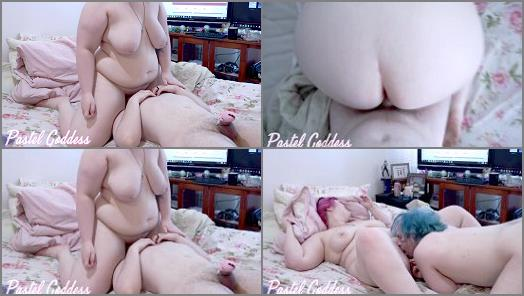 Pawg –  Pastel Goddess – Hot Sex Before Chastity Cum Clean Up