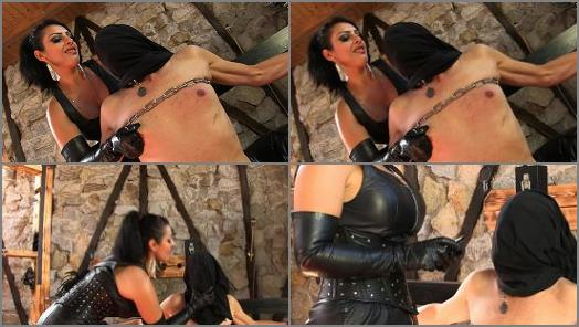 SADO LADIES Femdom Clips  Hooded Torture   Mistress Ezada  preview