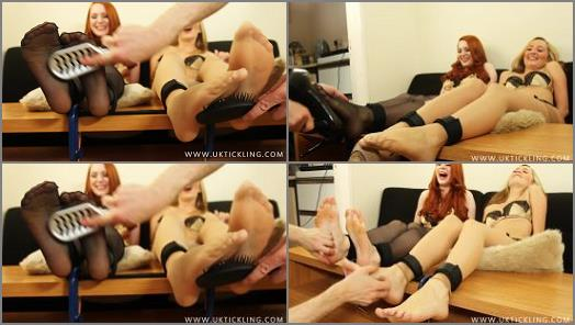 Tickle feet – UK Tickling – Sophie Nova, Sophia Smith