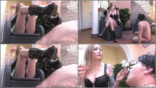 Femme Fatale Films  Ash and Spit  Complete Film   Domina Hades  preview
