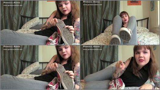 Shoes - Princess Annie - Red Converse Worship