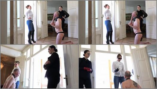 Sado Ladies  Slapped By Young Ladies   Mistress Nemesis and Mistress Cloe  preview